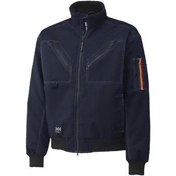 Textiel Heren Fleece Helly Hansen Work Marineblauw