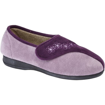 Schoenen Dames Sloffen Sleepers Embroidered Paars/Lila