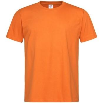 Textiel Heren T-shirts korte mouwen Stedman Comfort Oranje