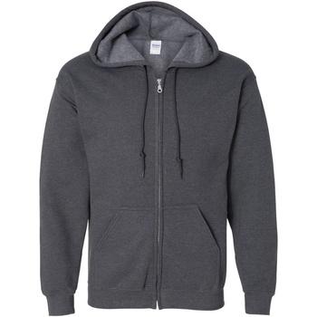 Textiel Heren Sweaters / Sweatshirts Gildan Hooded Donkere Heide