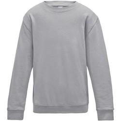 Textiel Kinderen Sweaters / Sweatshirts Awdis JH30J Heide Grijs