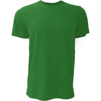 Textiel Heren T-shirts korte mouwen Bella + Canvas Jersey Forest Groen