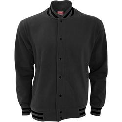 Textiel Heren Wind jackets Fdm Varsity Houtskool/zwart