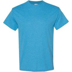 Textiel Heren T-shirts korte mouwen Gildan Heavy Heide Saffier