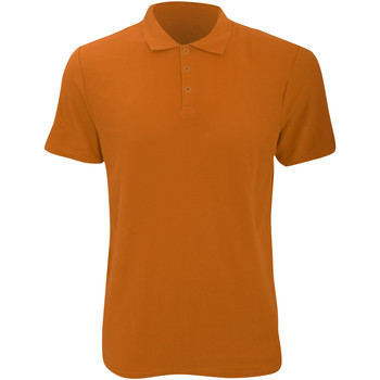 Textiel Heren Polo's korte mouwen Anvil 6280 Mandarijn Oranje