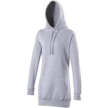 Textiel Dames Sweaters / Sweatshirts Awdis Girlie Heide Grijs