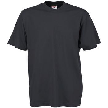 Textiel Heren T-shirts korte mouwen Tee Jays TJ8000 Donkergrijs