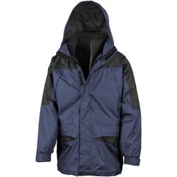 Textiel Heren Windjacken Result Alaska Marine / Zwart