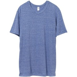 Textiel Heren T-shirts korte mouwen Alternative Apparel Jersey Eco Pacific Blue