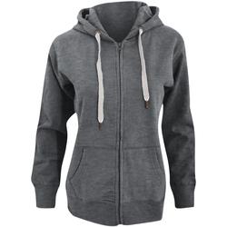 Textiel Dames Sweaters / Sweatshirts Mantis Hooded Heide Grijs Melange