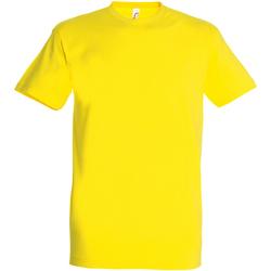 Textiel Heren T-shirts korte mouwen Sols Imperial Citroen