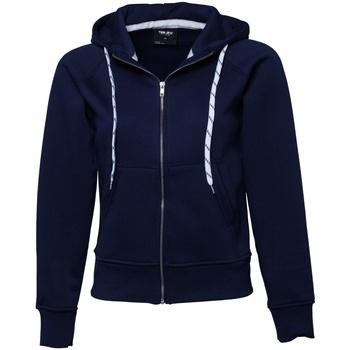 Textiel Dames Sweaters / Sweatshirts Tee Jays Hooded Marineblauw