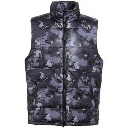 Textiel Heren Dons gevoerde jassen 2786 TS015 Camo Grijs