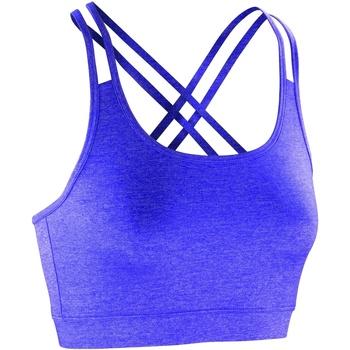 Textiel Dames Sport BHs Spiro Crop Lavendel