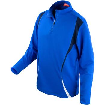 Textiel Dames Trainings jassen Spiro S178X Koninklijk/Zwaar/Wit