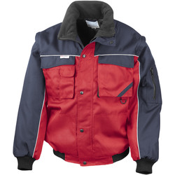 Textiel Heren Wind jackets Result Windproof Rood/Zwaar
