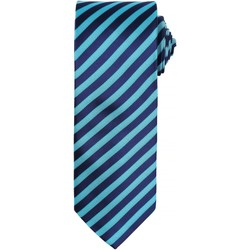 Textiel Heren Krawatte und Accessoires Premier PR782 Turquoise/Marine