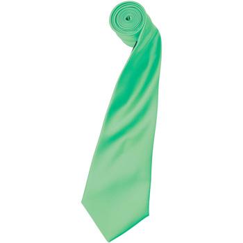 Textiel Heren Krawatte und Accessoires Premier Satin Turquoise
