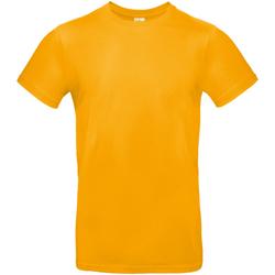Textiel Heren T-shirts korte mouwen B And C TU03T Abrikoos