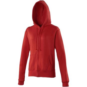 Textiel Dames Sweaters / Sweatshirts Awdis Girlie Vuurrood
