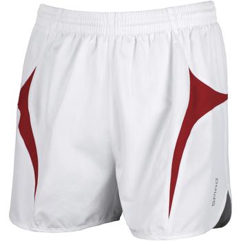 Textiel Heren Korte broeken / Bermuda's Spiro S183X Wit/rood