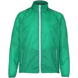 Textiel Heren Windjacken 2786 TS011 Kelly/Wit