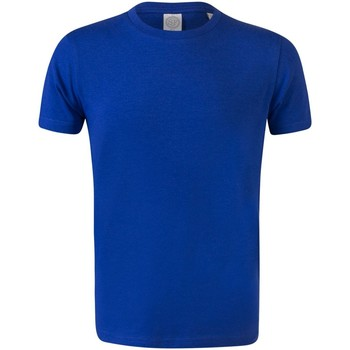 Textiel Kinderen T-shirts korte mouwen Skinni Fit Stretch Koninklijk
