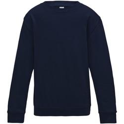 Textiel Kinderen Sweaters / Sweatshirts Awdis JH30J Nieuwe Franse marine