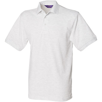 Textiel Heren Polo's korte mouwen Henbury Pique As