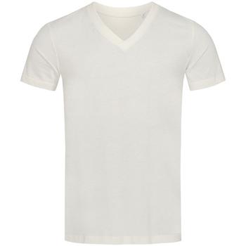 Textiel Heren T-shirts korte mouwen Stedman Stars Organic Wit/Wit