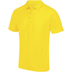 Textiel Heren Polo's korte mouwen Just Cool JC040 Zonnegeel