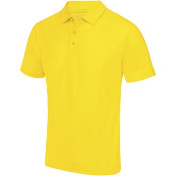 Textiel Heren Polo's korte mouwen Awdis JC040 Zonnegeel