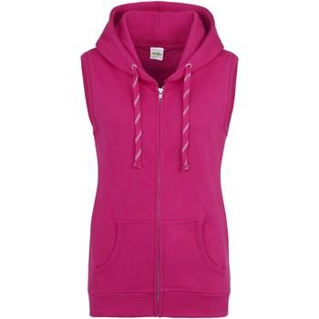 Textiel Dames Vesten / Cardigans Awdis JH57F Heet Roze