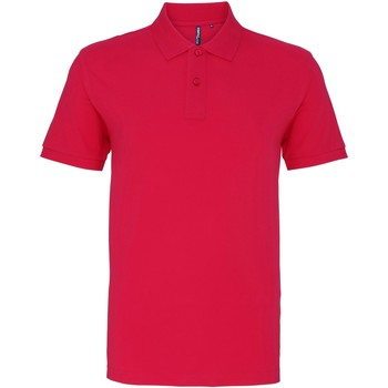 Textiel Heren Polo's korte mouwen Asquith & Fox AQ010 Heet Roze