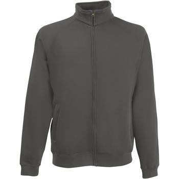 Textiel Heren Sweaters / Sweatshirts Fruit Of The Loom Premium Licht Graphite