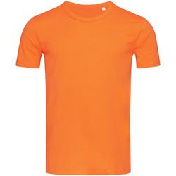 Textiel Heren T-shirts korte mouwen Stedman Stars Morgan Donkeroranje