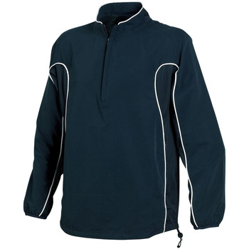Textiel Heren Wind jackets Tombo Teamsport TL045 Navy/Navy/White Piping