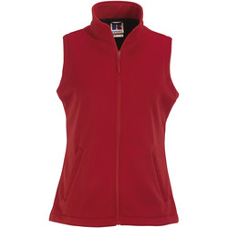 Textiel Dames Fleece Russell Softshell Klassiek rood