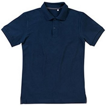 Textiel Heren Polo's korte mouwen Stedman Stars Henry Blauw