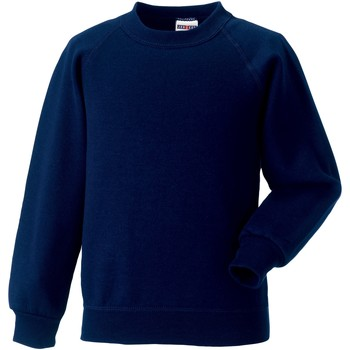 Textiel Kinderen Sweaters / Sweatshirts Jerzees Schoolgear Raglan Franse marine