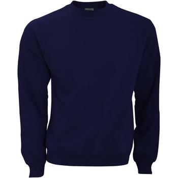 Textiel Heren Sweaters / Sweatshirts B And C WUI20 Marineblauw