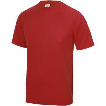 Textiel Heren T-shirts korte mouwen Awdis Performance Vuurrood