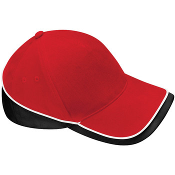 Accessoires Pet Beechfield Baseball Klassiek rood/zwart