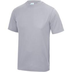 Textiel Heren T-shirts korte mouwen Just Cool Performance Heide Grijs