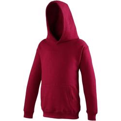 Textiel Kinderen Sweaters / Sweatshirts Awdis Hooded Rode Hete Chili