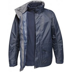 Textiel Heren Windjacken Regatta Benson Marine/Navy