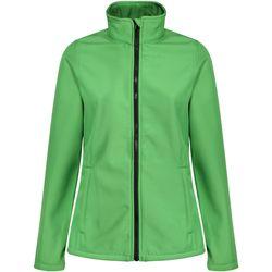 Textiel Dames Fleece Regatta TRA629 Extreem groen/zwart