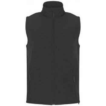 Textiel Heren Vesten / Cardigans Prortx Soft Shell Houtskool