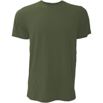 Textiel Heren T-shirts korte mouwen Bella + Canvas Jersey Heather Olive