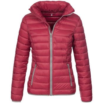 Textiel Heren Dons gevoerde jassen Stedman Active Bordeaux Rood